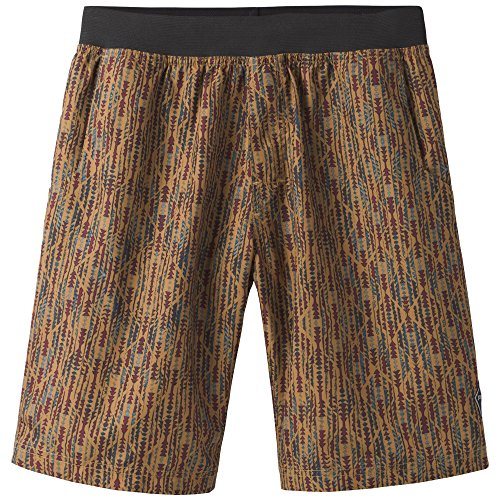 prAna Mojo Shorts, Bronze Arrowhead, Medium