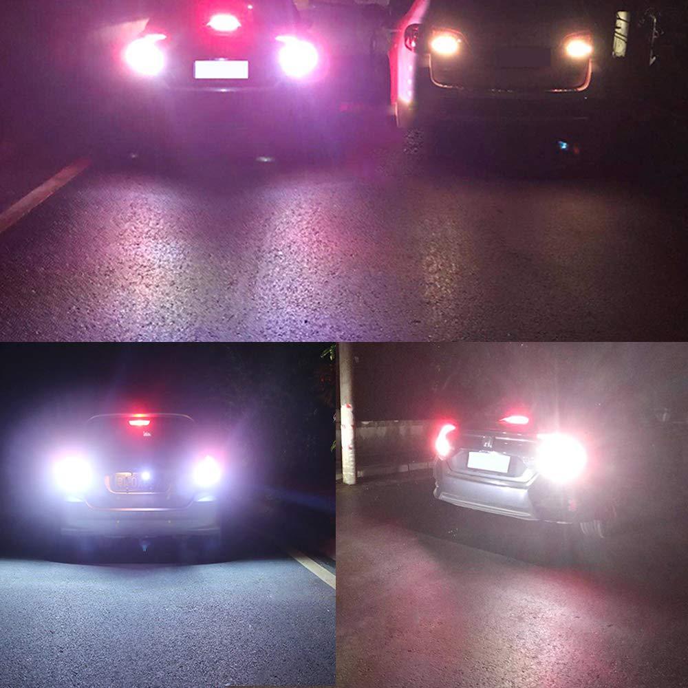 24V 1156 1141 1003 BA15S 54-SMD 3014 Chips White LED Bulbs for RV Camper Trailer Trunk Vehicle Interior Lights Tail Backup Reverse Lights Parking Lights Pack of 4
