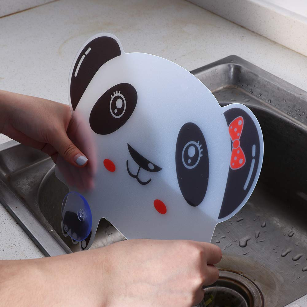 langery Bathroom Sucker Prevent Cooking Oil Washing Splatter Bears Pool Guard Panda Sink Board Plastic Splash Water Baffle