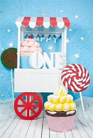 Amazon.com: OFILA - Fondo para el primer cumpleaños, diseño ...