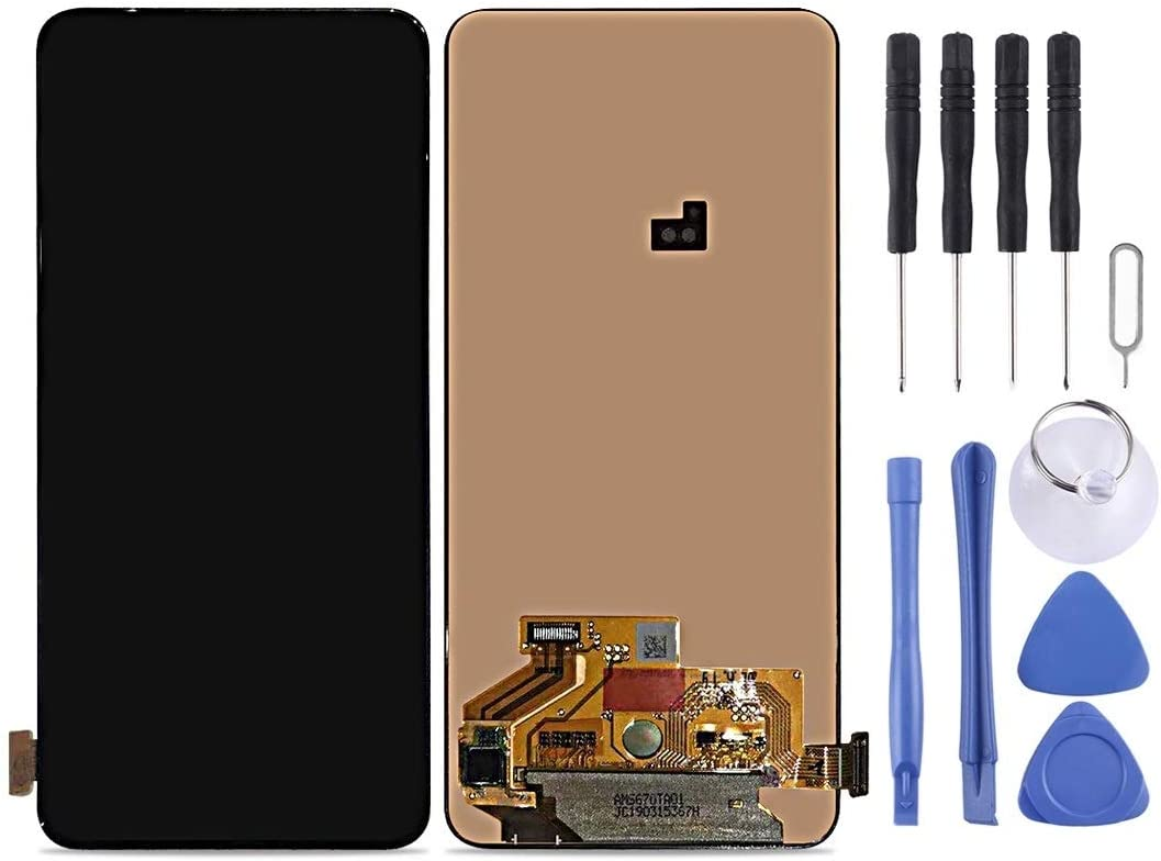 YANGJ Phone LCD Screen LCD Screen and Digitizer Full Assembly for Galaxy A80 A90 A805F Black Color : Black
