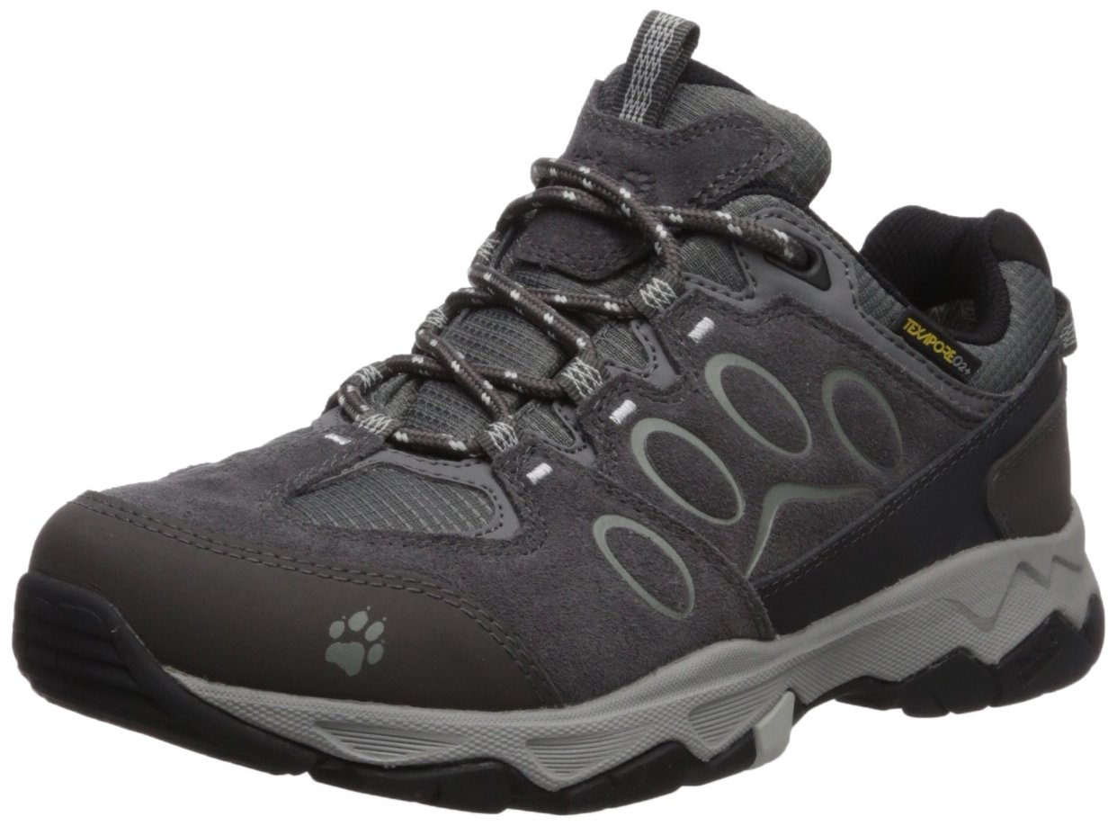 Jack Wolfskin Women's MTN Attack 5 Texapore Low W Hiking Boot B073ZHW9NS US Women's 8 D US|Grey Haze