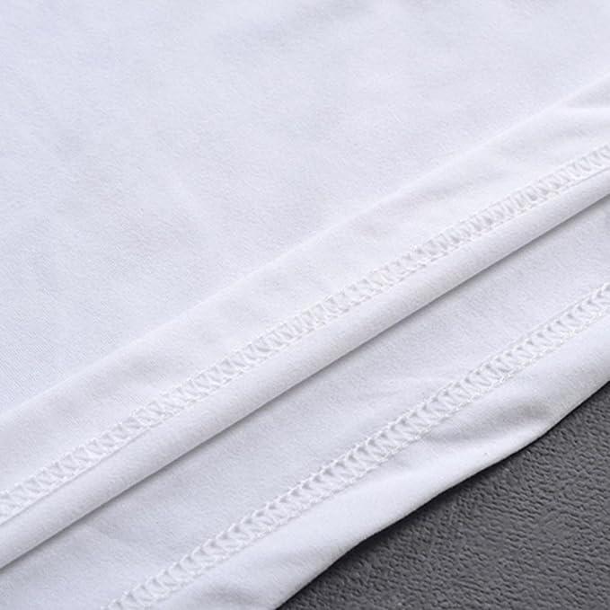 Resplend Camisa de Manga Larga de la Camiseta de la Manga de la impresión de Las Camisetas de la impresión de los Hombres más tamaño: Amazon.es: Ropa y ...