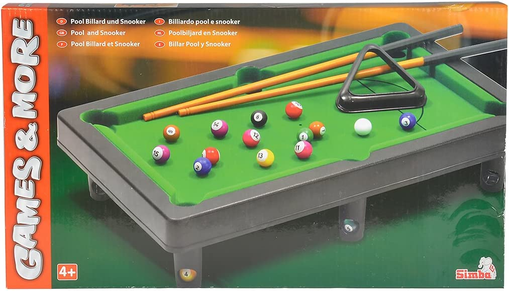 Simba 106167704 Snooker Table - Mesas de Billar (Snooker Table ...