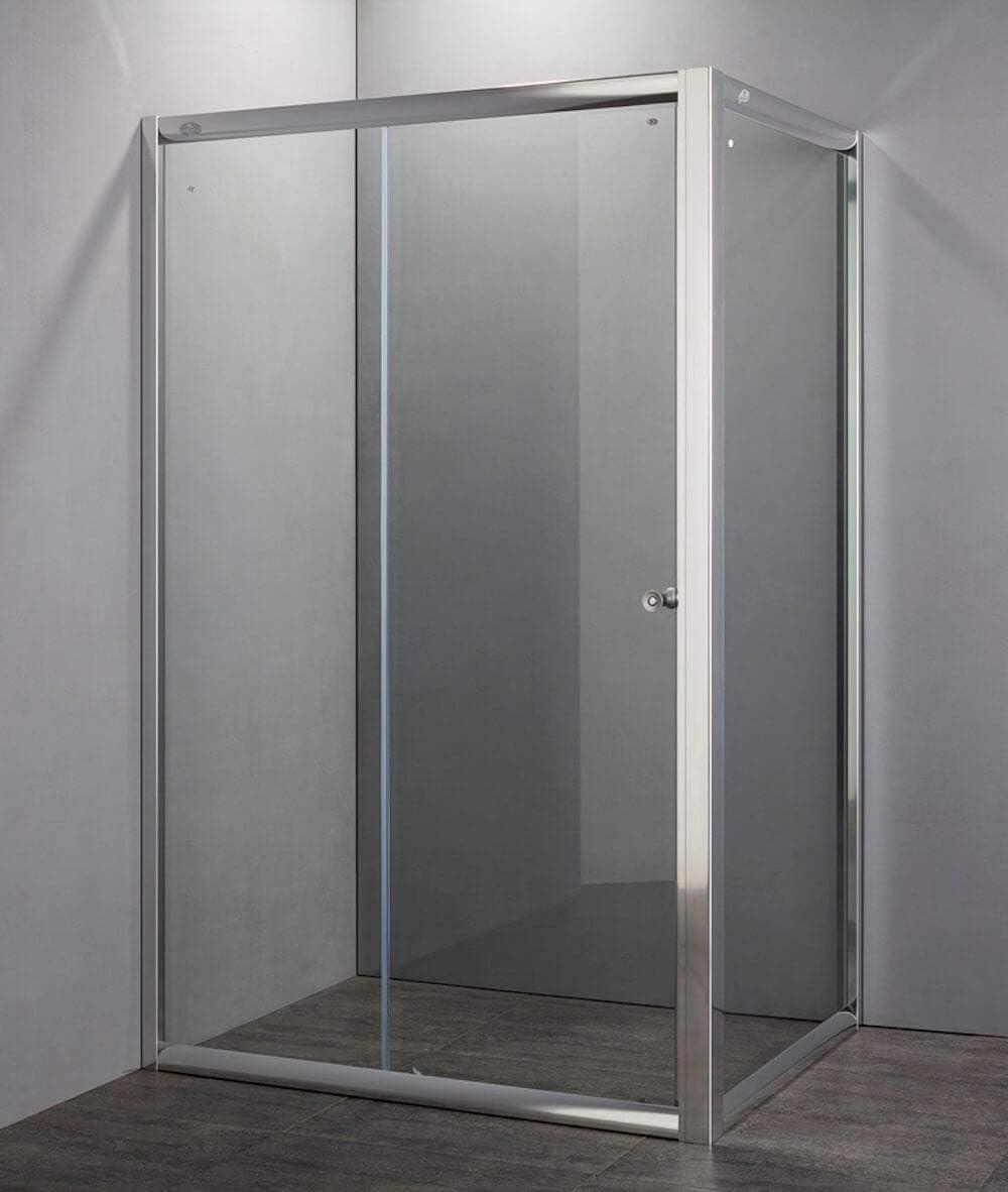 dekker Box ducha rectangular 1 puerta corredera de cristal H185 Talon: Amazon.es: Hogar