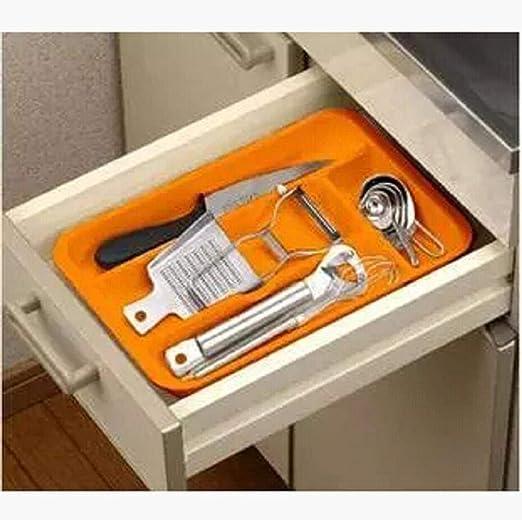 Alvar - Organizador de cubiertos y cajones, cuchara multiengranaje ...