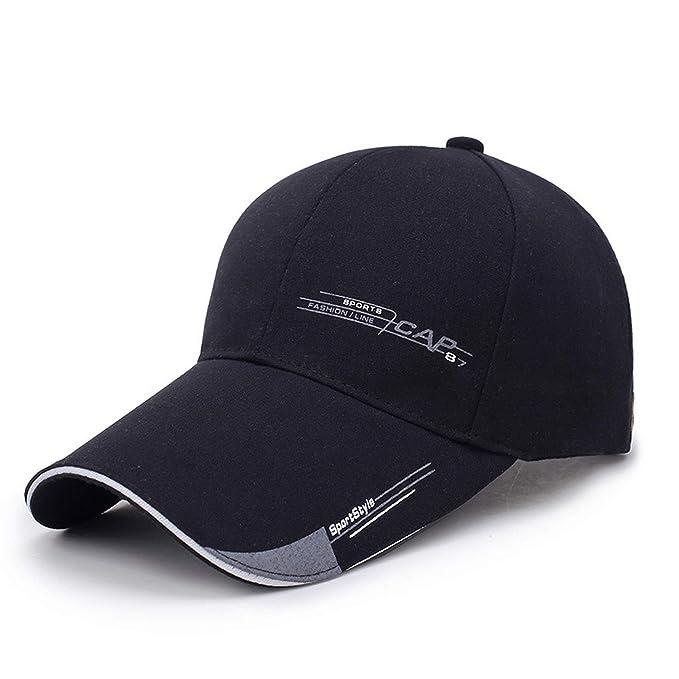 bd625dad1e Sports Cap Mens Hat for Fish Outdoor Fashion Line Baseball Cap Long ...
