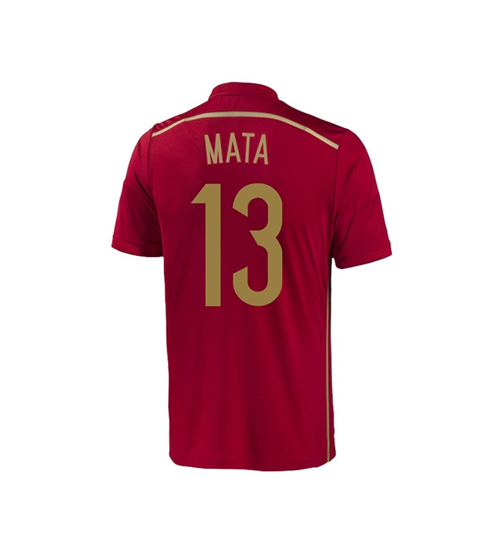 Adidas MATA #13 Spain Home Jersey World Cup 2014 YOUTH/サッカーユニフォーム スペイン代表 ホーム用 ワールドカップ2014 背番号13 マタ ジュニア向け B00J8VY5QW YXL