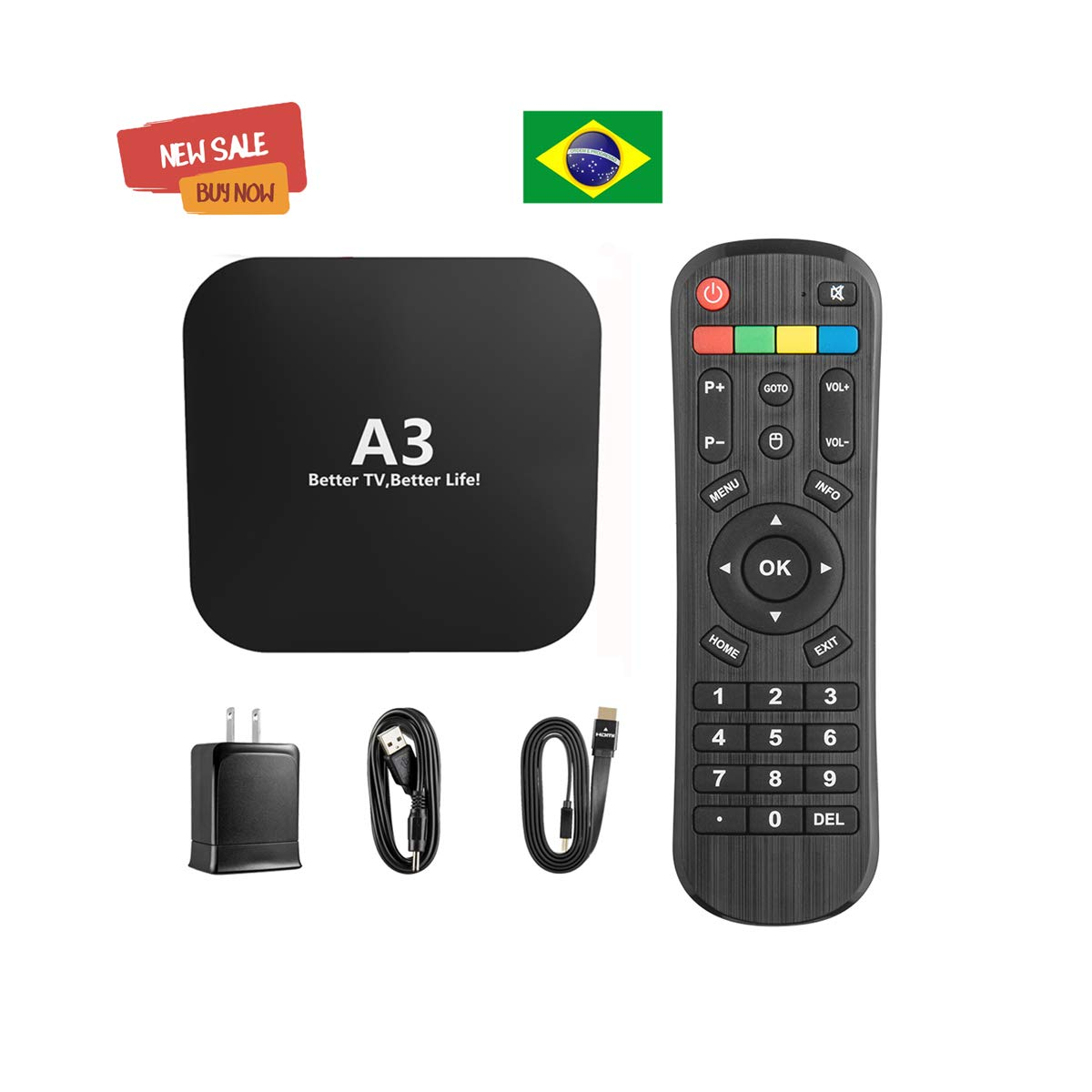 2019 Brazil Box A3 Version Based on A2 HTV5 IPTV 5 6 Plus Better Than IPTV 8 Brazil 200+ Popular Vivo 4K Canais Brasileiros, maciço filmes, vídeo, Drama by BestTV