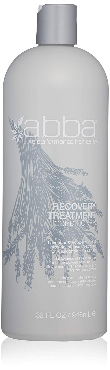 ABBA Recovery Treatment Conditioner, Lavender & Peppermint Oil