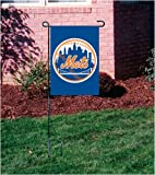 New York Mets Applique & Embroidered Garden/window/mini Flag Gooney Bird