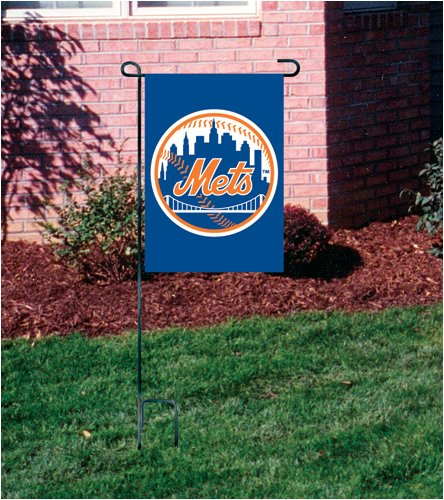 Party Animal New York Mets Applique & Embroidered Garden/Window/Mini Flag Gooney Bird