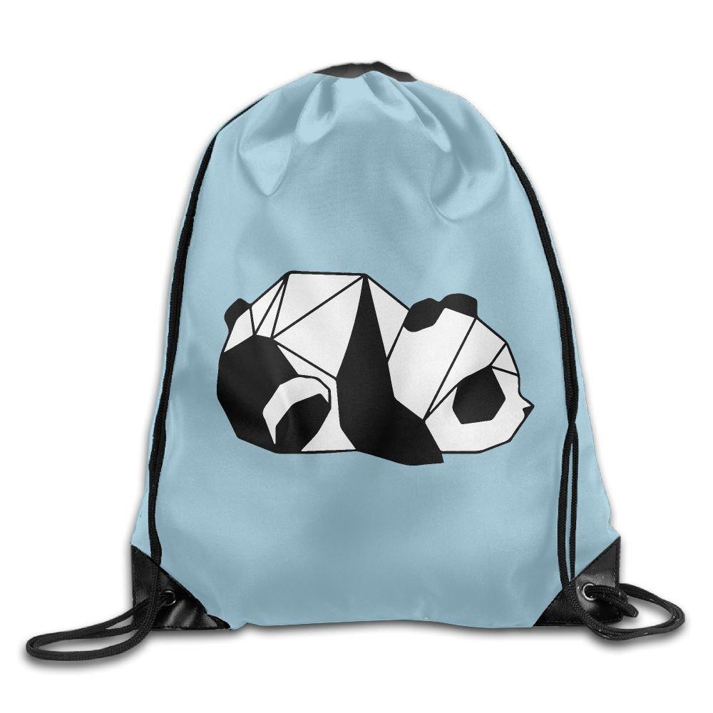 Panda Art Drawstring Backpack Rucksack Shoulder Bags Training Gym Sack For Man And Women