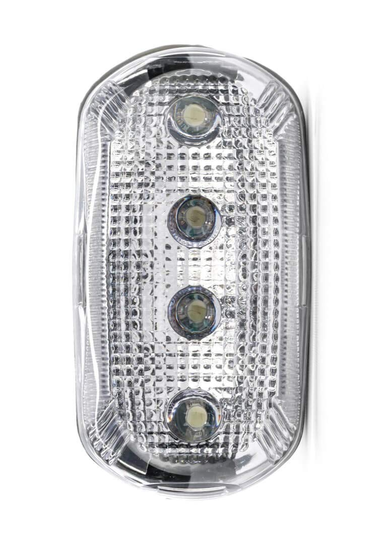 FoxFire 6001682 Personal Safety Weather Resistant Light, 4 LEDs, 2-1/2'' Length x 1-5/16'' Width x 1-5/16'' Thick, White