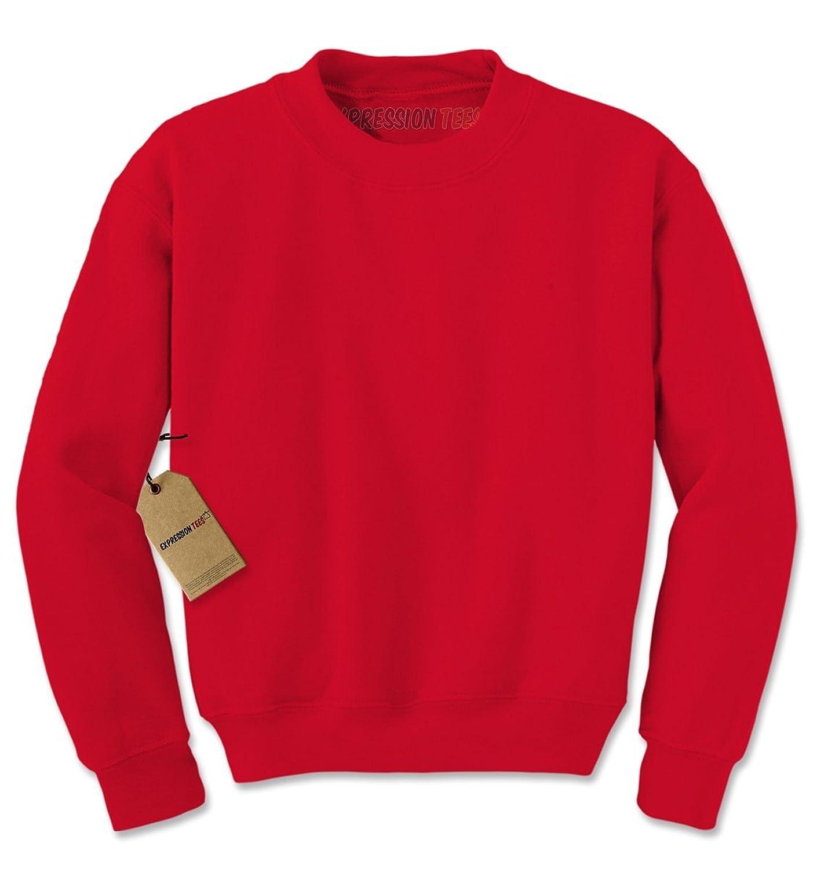 cc8f659fa0c Expression Tees Basics - Blank Crewneck Sweatshirt best ...
