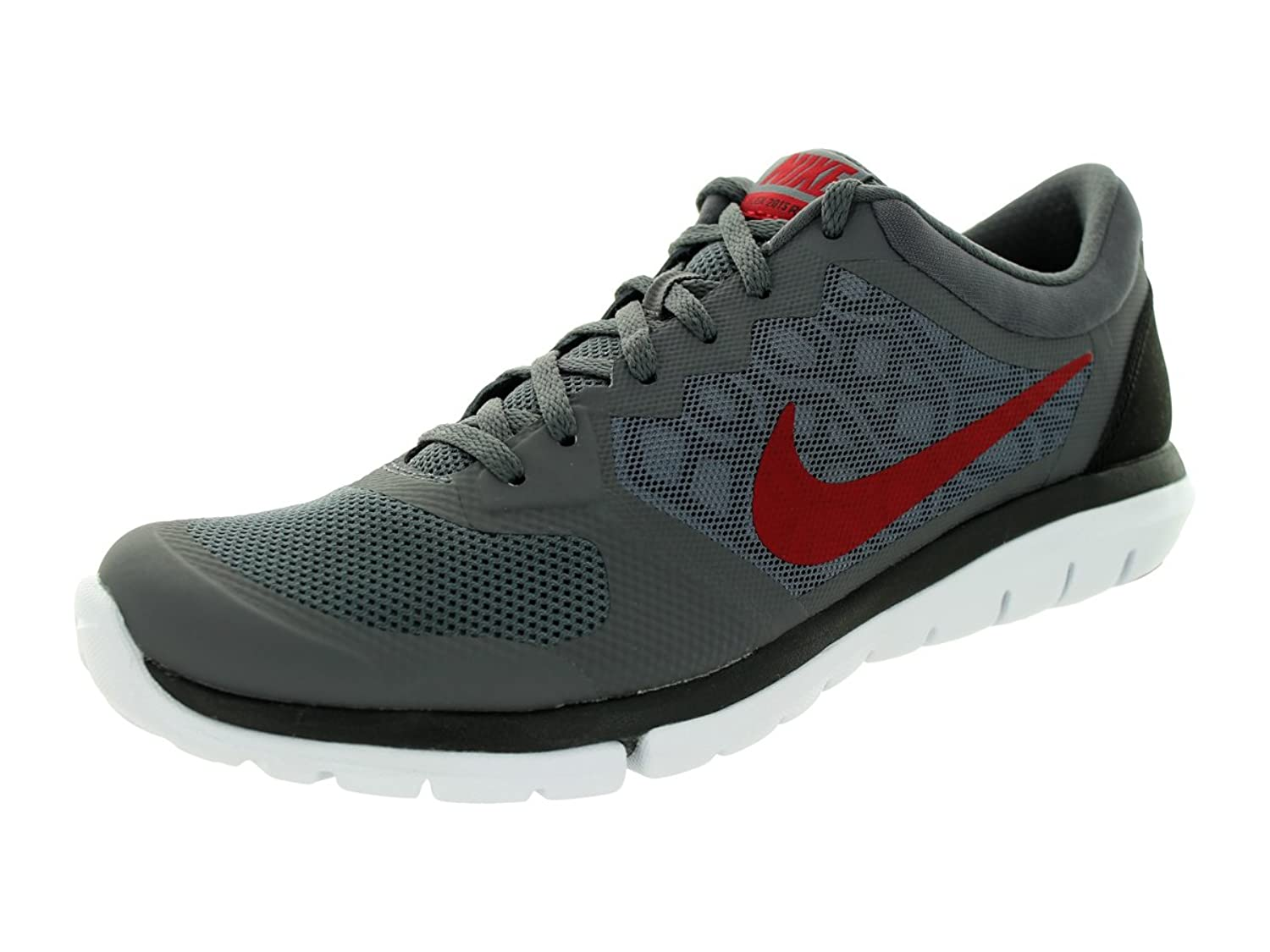 online store 59d44 87a2c Nike Shox TR Mens Gray White Red Running Trainers Shoes