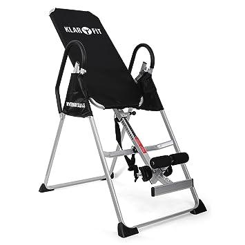 Klarfit Relax Zone Basic Tabla de inversión (135 kg de Peso máximo, Ajustable en