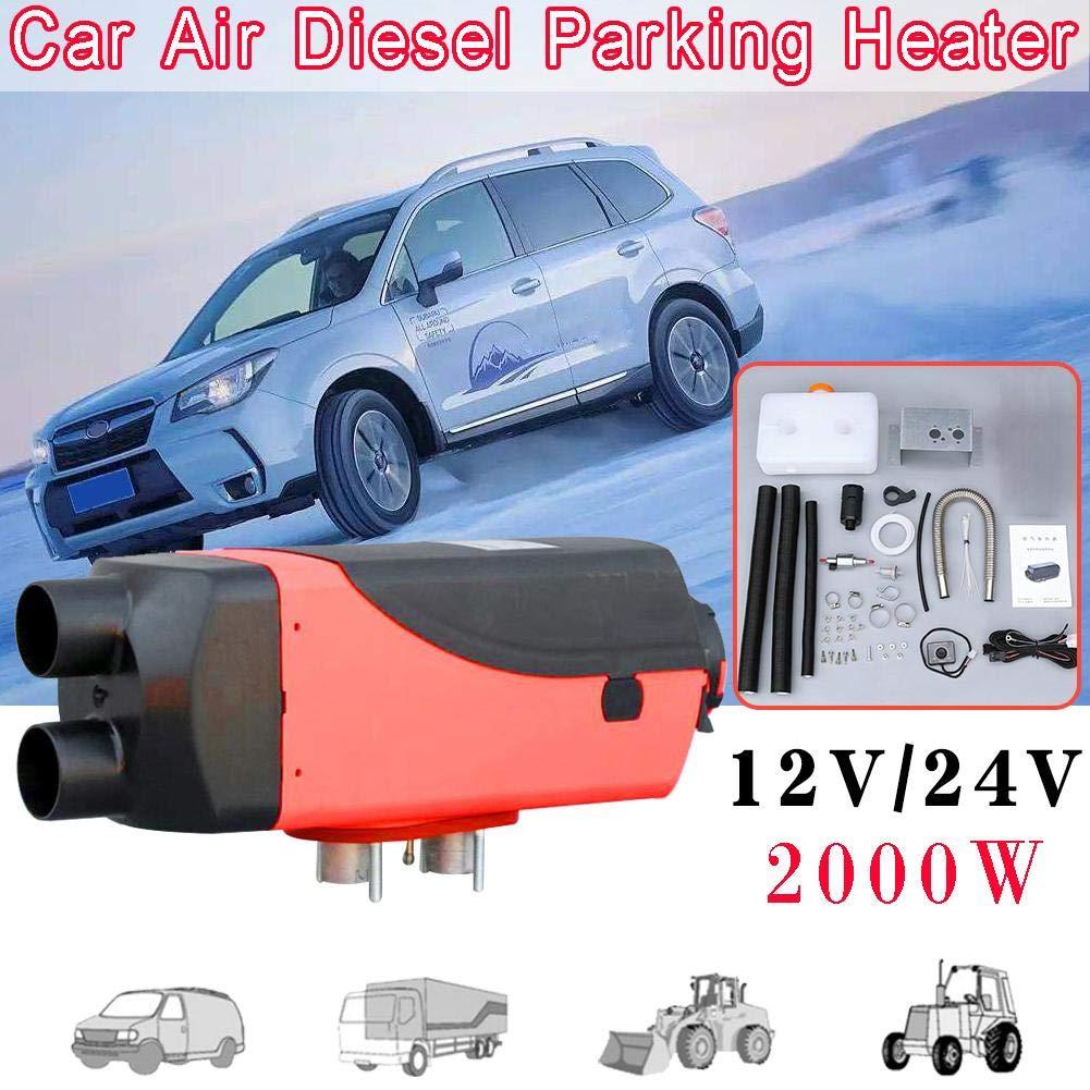2000W se dobla el estacionamiento inteligente del coche del calentador de aire del combustible del calentador de estacionamiento del motor diesel del ...