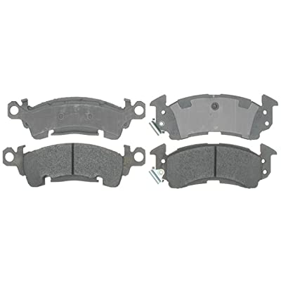 ACDelco 14D52M Advantage Semi-Metallic Front Disc Brake Pad Set with Wear Sensor: Automotive