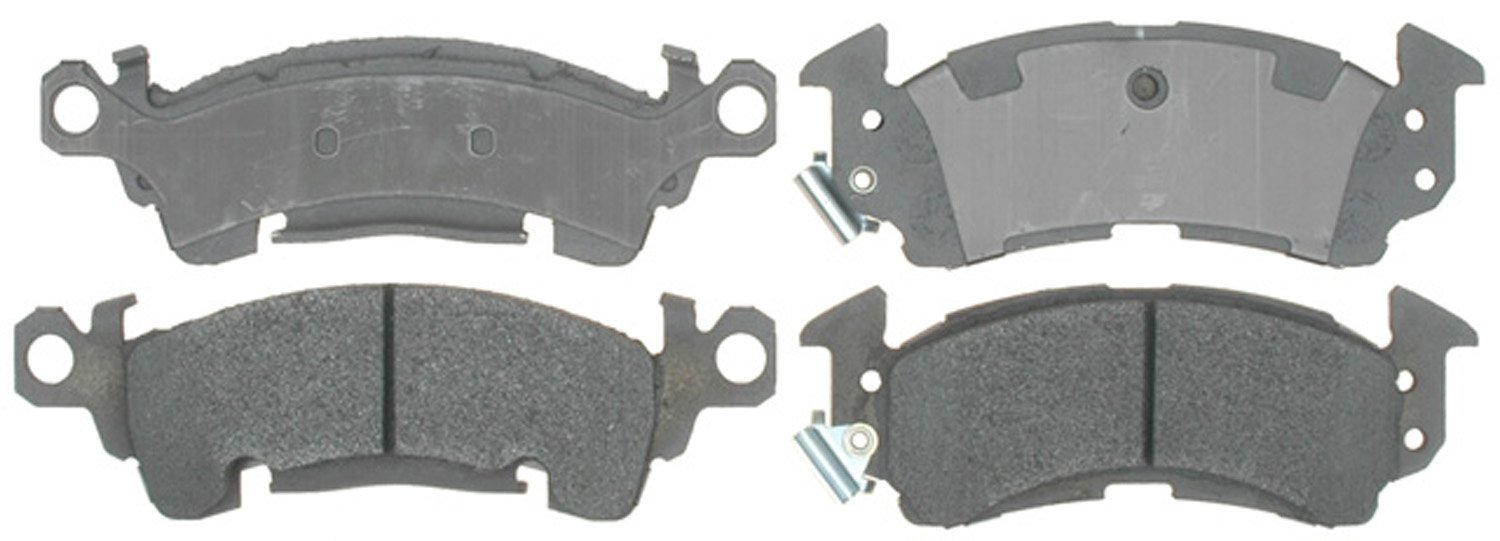 ACDelco 14D52M Advantage Semi-Metallic Front Disc Brake Pad Set with Wear Sensor