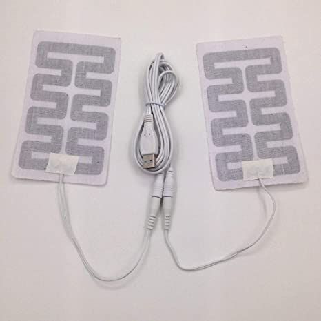 5V USB Heated Gloves DIY Heating Pad For Feet Gloves Mouse Mat Winter Heater