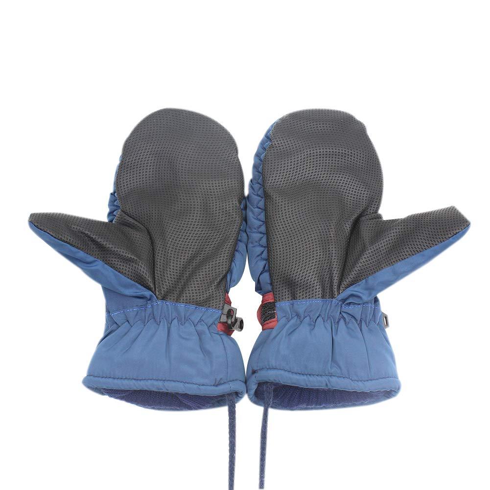 Aibearty Kids Anti-Slip Winter Thicken Warm Mittens Cold Weather Outdoor Activities Snow Ski Gloves