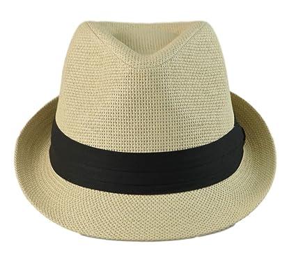 4e4f3ac4ad8c3d Mens Big Size Classic Fedora Short Brim Trilby Hat XL(60cm), XXL ...