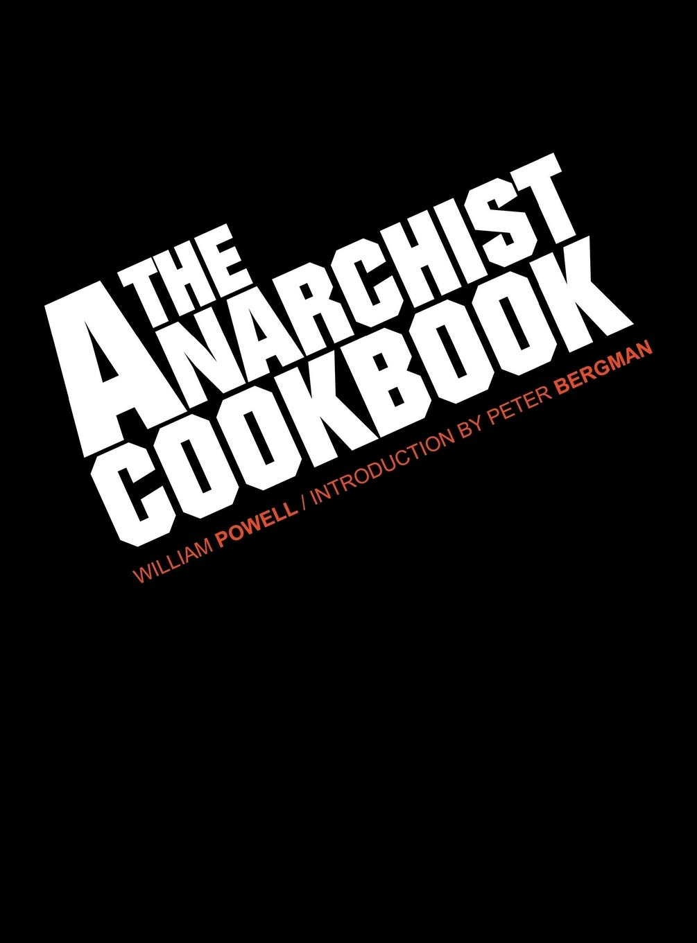 Anarchist Cookbook William Powell product image