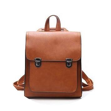 New Women Backpack Leather PU Mochilas Mujer 2019 Girl School Bag Vintage Travel Backpacks Shoulder Bag