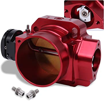 Throttle Body Spacer Red Honda Civic Si 2006-2011 70mm Free Shipping