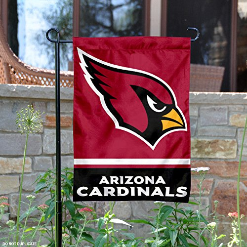 dinals Double Sided Garden Flag (Arizona Cardinals Banner Flag)