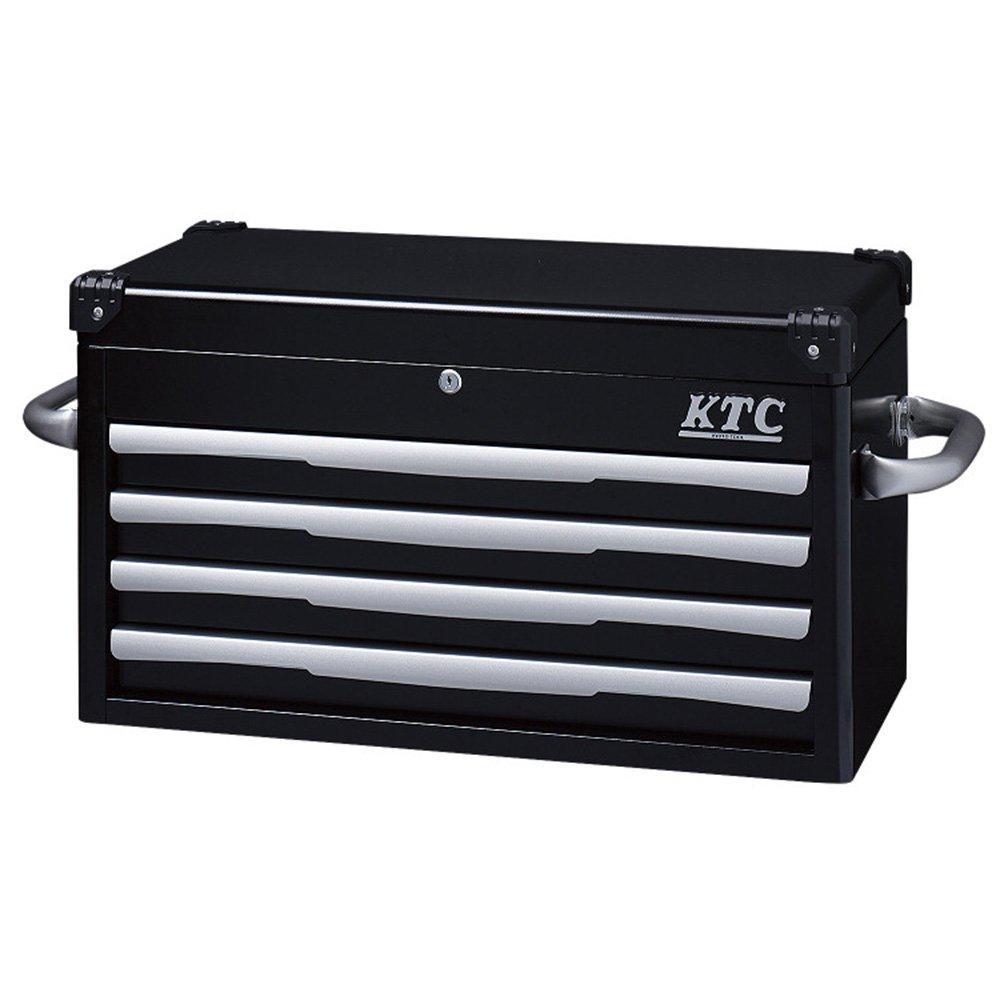 KTC(ケーテーシー) トップチェスト 4段4引出し ブラック EKR-1004BK (2015 京都機械工具 企画商品) B00GY4VW1M