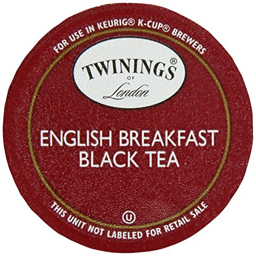 Twinings English Breakfast Tea, Keurig K-Cups, 24 Count (Pack of 2)