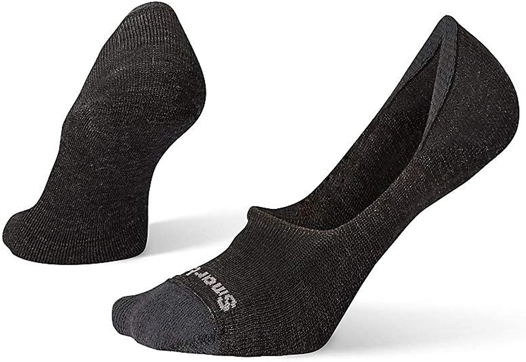 Smartwool Cushion No Show Socks - Men's Merino Wool Socks with Ultra Light Cushioning