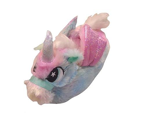 Unicornio del Arco Iris 3D niñas Zapatillas: Amazon.es: Zapatos y complementos
