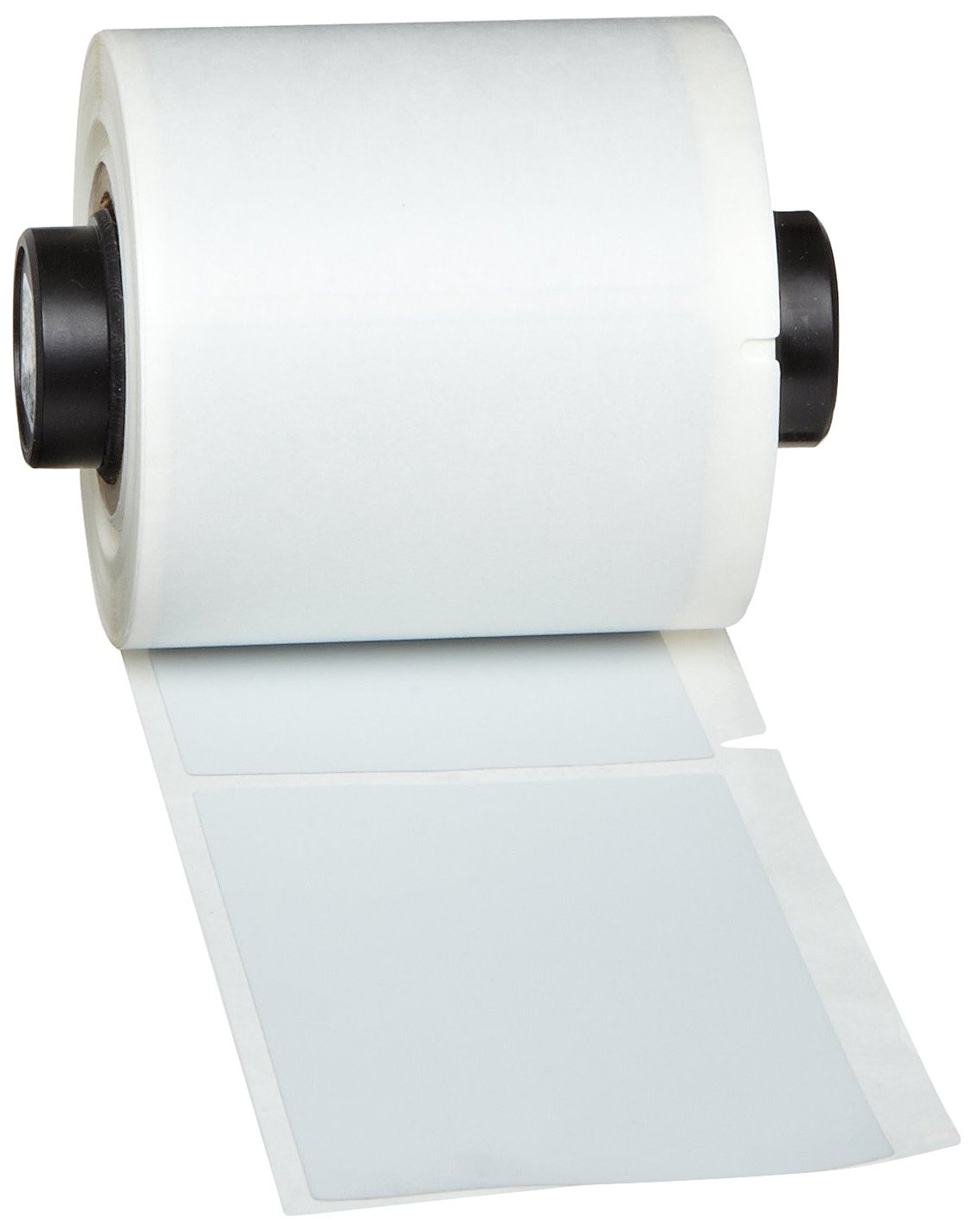 500 per Roll Brady PTL-29-486 TLS 2200 and TLS PC Link 1.5 Width x 0.5 Height B-486 Ultra Aggressive Metallized Polyester Matte Finish Silver BradyBondz Label