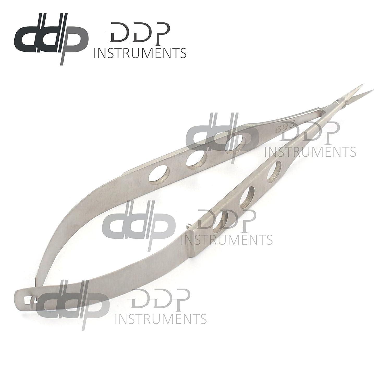 """Cheap DDP Castroviejo Micro Scissors Delicate 4"""" Straight"""