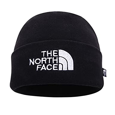 769ee7339 THE NORTH FACE Double Layers Winter Thicken Polar Fleece Thermal Beanie Hat