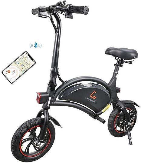 Kugoo B1 Bicicleta Eléctrica Plegable para Adultos E-Bike, Soporte ...
