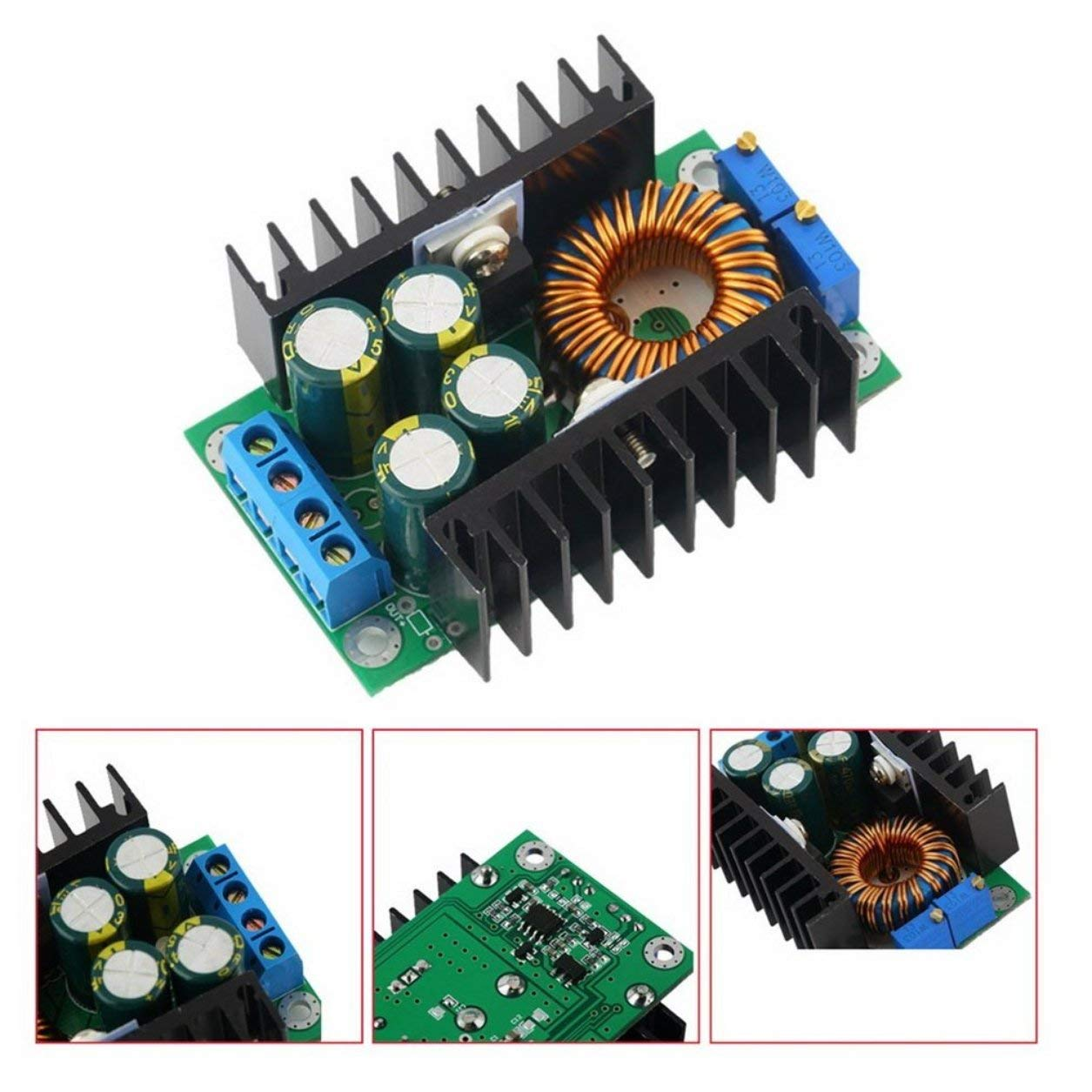 DC-DC CC CV Buck Converter Step-down Power Supply Module 8-40V to 1.25-36V Dailyinshop
