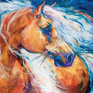 Westland Giftware Marcia Baldwin Canvas Wall Art, 15 by 15-Inch, Free Breeze