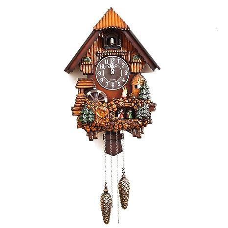 Sunjun Cuco Reloj de pared de cuco Reloj Relojes de pulsera Reloj de bolsillo