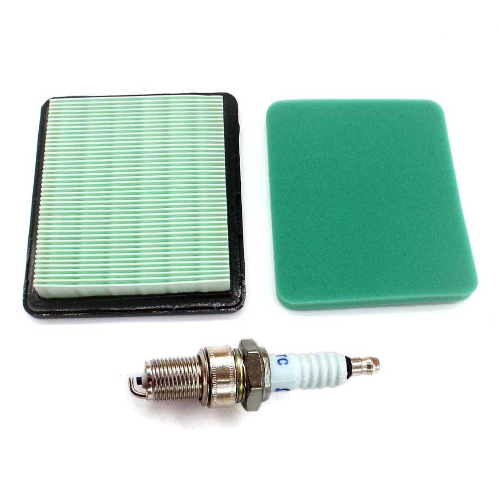 Aisen Air Filter Pre Cleaner & Spark Plug for HONDA GC GCV GX GXV HRS HRT 100 135 160 190