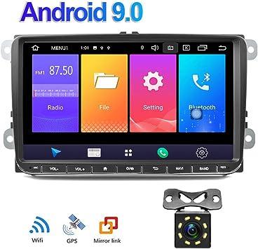 Android 9.0 Car Radio GPS para VW Camecho 9 Pulgadas Soporte de ...