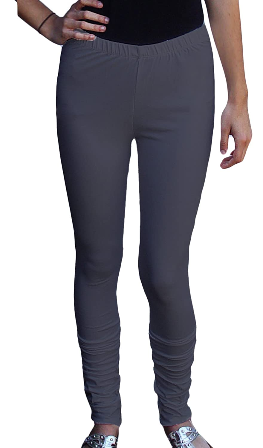 1a60f5954e6a43 Ayurvastram Pure Cotton Jersey Extra Long Leggings at Amazon Women's  Clothing store: