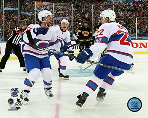 David Desharnais & Dale Weise 2016 NHL Winter Classic Photo Print (11 x 14)