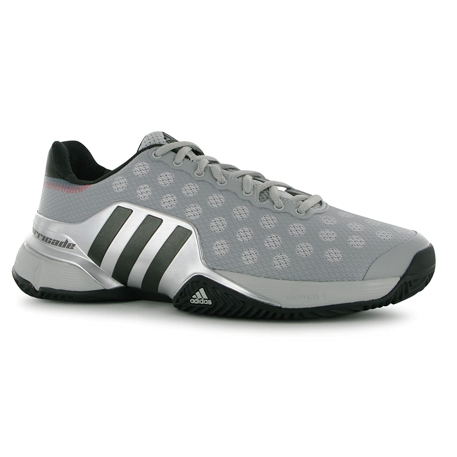 Adidas 2015 Barricade Men's Tennis Shoes Grey/iron/silver