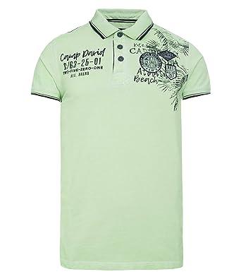 high quality new release large discount Camp David Herren Poloshirt aus Piquee mit Artworks