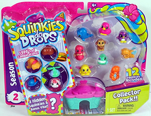 2017 Squinkies Do Drops Collector Pack SEASON 2 - COLLECTOR PACK Bonus Villa - Style 4