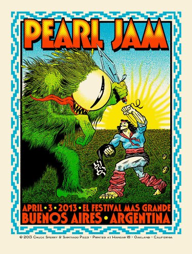 Pearl Jam - Buenos Aires, Argentina 04-03-2013 (Cd Vinyl Look Retro Black Edition 2014)